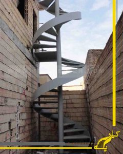 راه پله گرد فرار (اضطرار)
