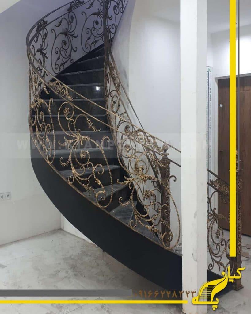 پله دوبلکس شمشیری