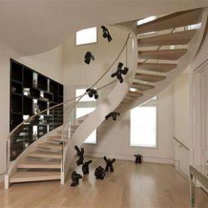 انواع پله های دوبلکس در طراحی