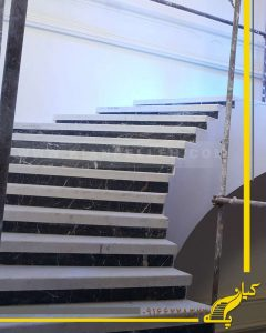 پله تیرآهنی