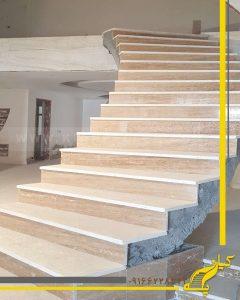 پله دوبلکس مصالحی